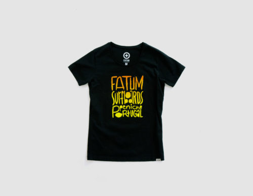 Fatum Watercolor Tee Women-226