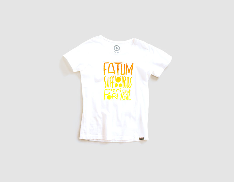 Fatum Watercolor Tee Women-223