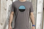TELESCOPE tee grey
