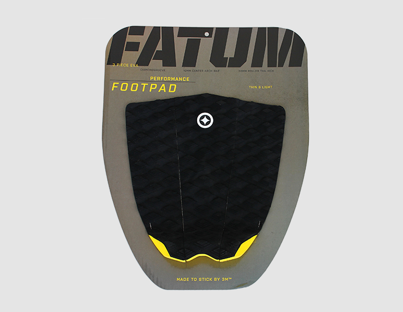 Fatum 3PCS Traction Pad Yellow-542