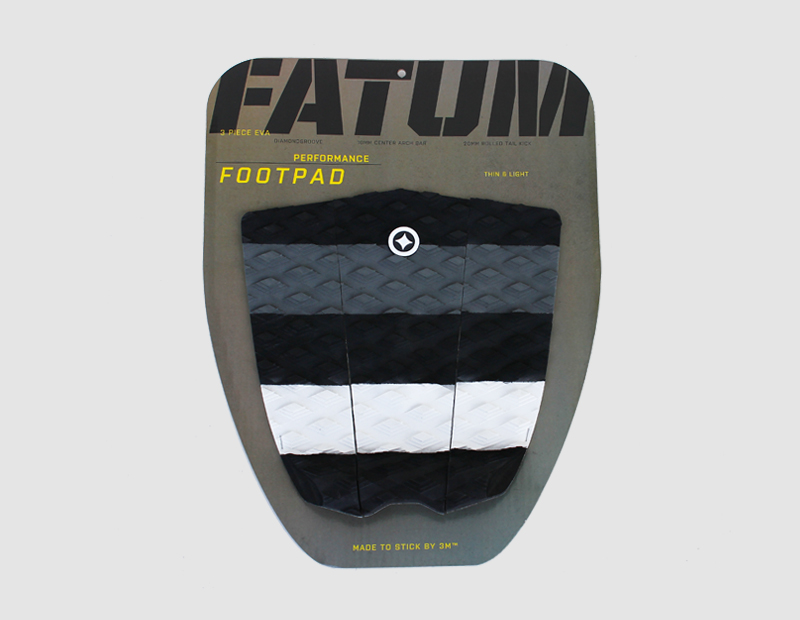 Traction pad grey wide