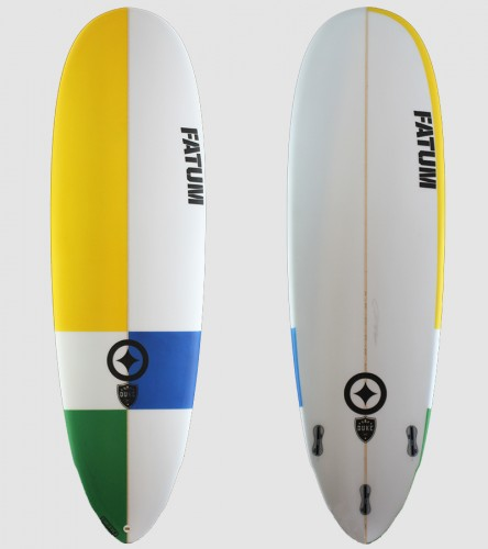 "Fatum Duke 6'4"" multi color"
