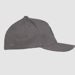 Flexfit round grey side
