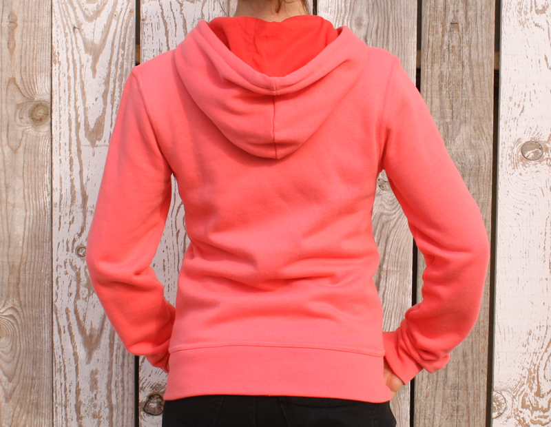 Coastal Zip Hoody Women back