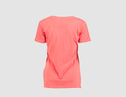 WMS written tee coral t back
