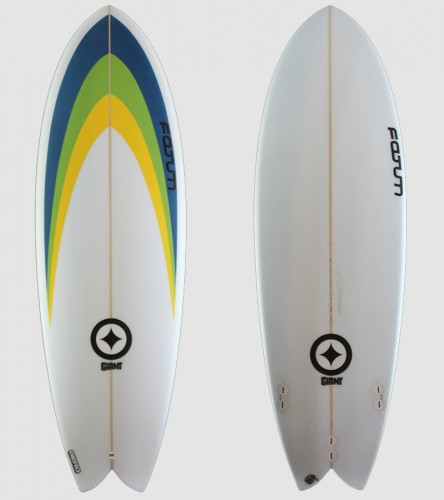 "Giant Fish 5'9"" rainbow"