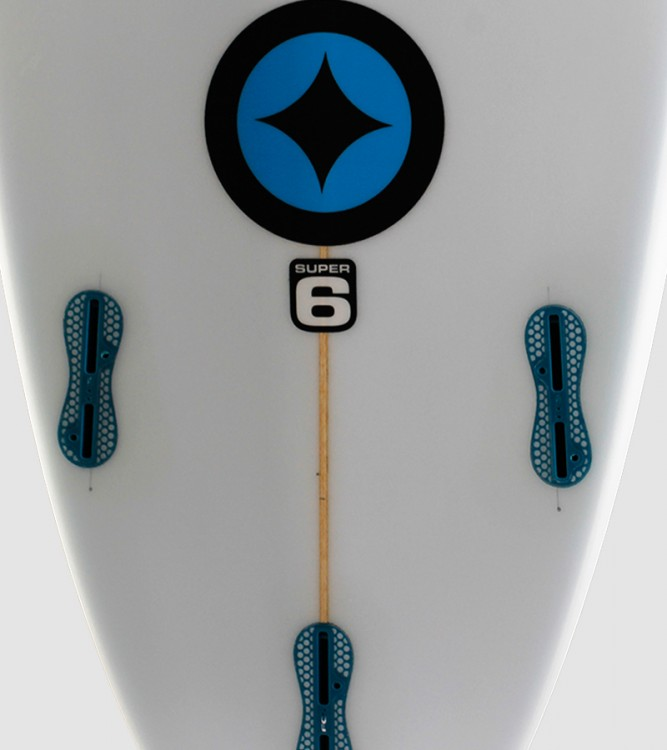 "SuperSix 6'6"" blue star detail"