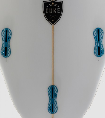 DUKE 7'0 blue trim detail