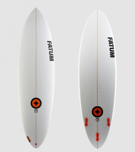 SuperSix 6'4 orange trim