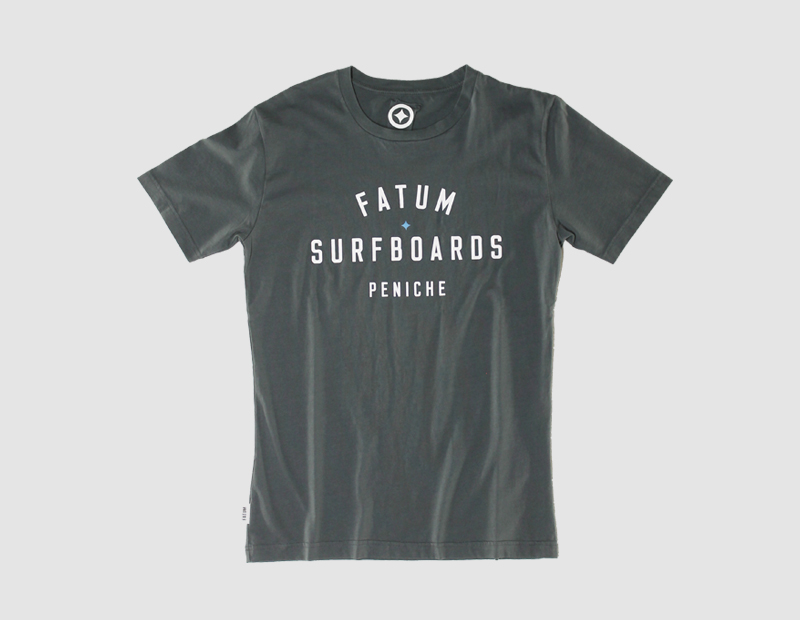 Stamp Tee dark grey