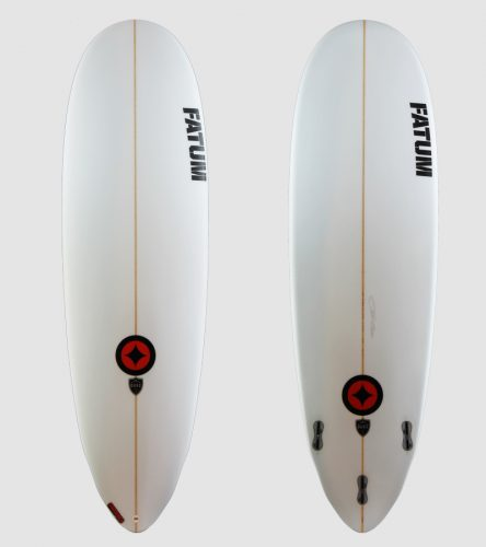 "Duke 6'4"" red trim"