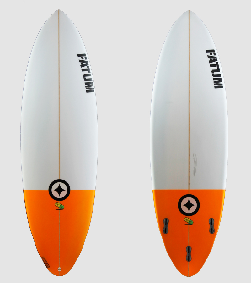 "Chill Pill 6'1"" - orange tail"