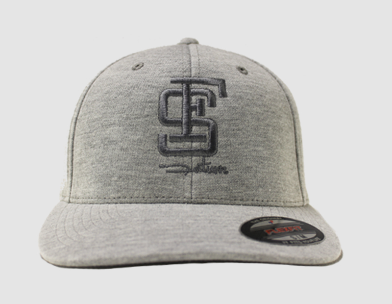 Cap Flexfit grey_front