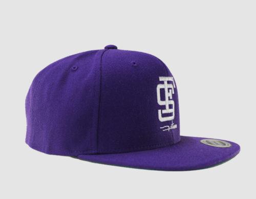 Cap snapback blue_side