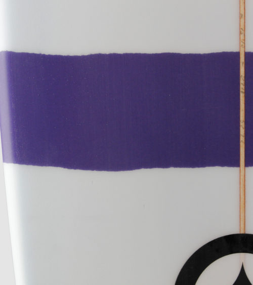 "Duke 7'0"" purple detail"