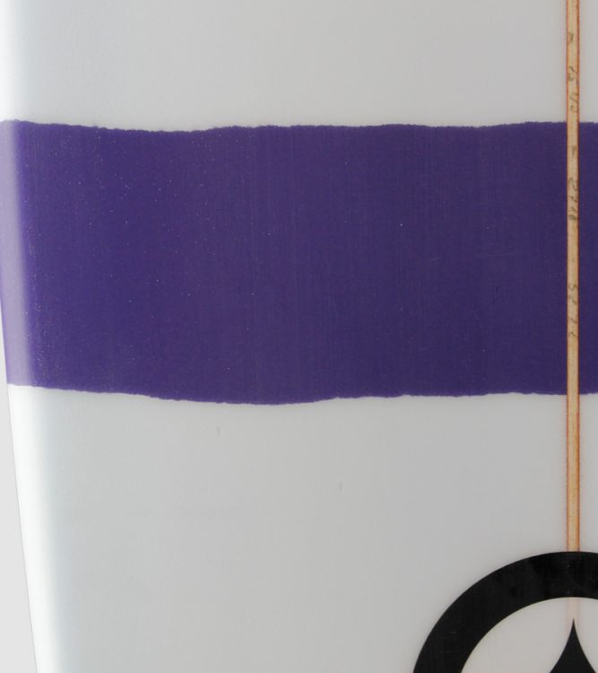 "Duke 7'0"" purple detail"