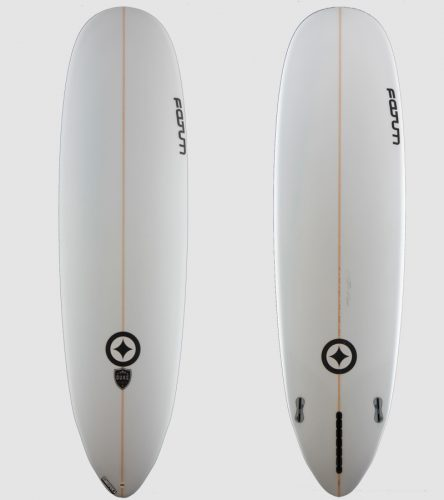 "Duke 7'0"" all white"
