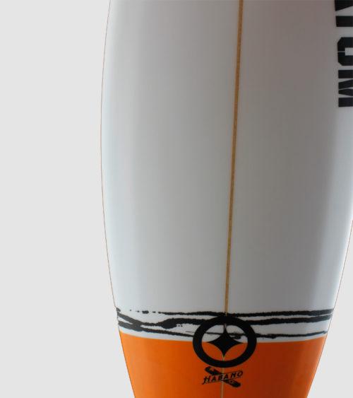 Habano 5'7 orange deck