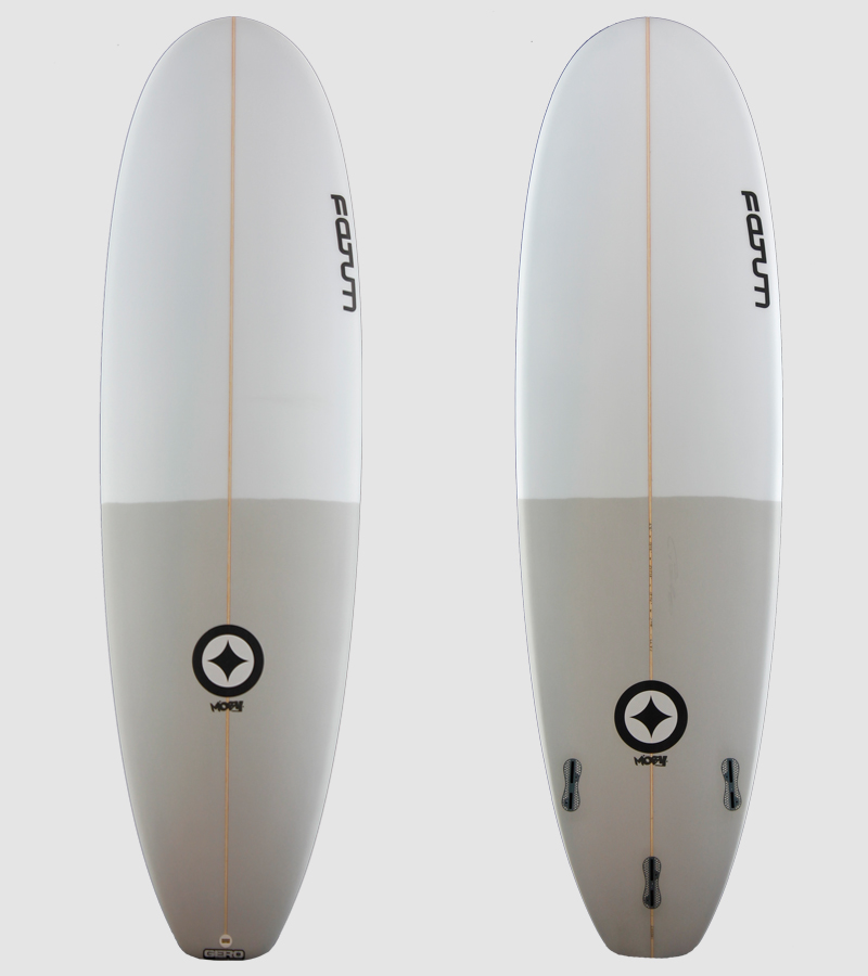 "Moby 6'6"" 50/50 grey"