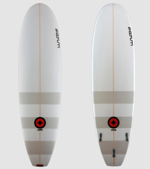 "Moby 7'0"" grey stripes"