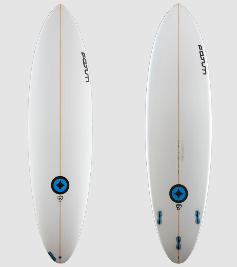 Super7 7'0 all white