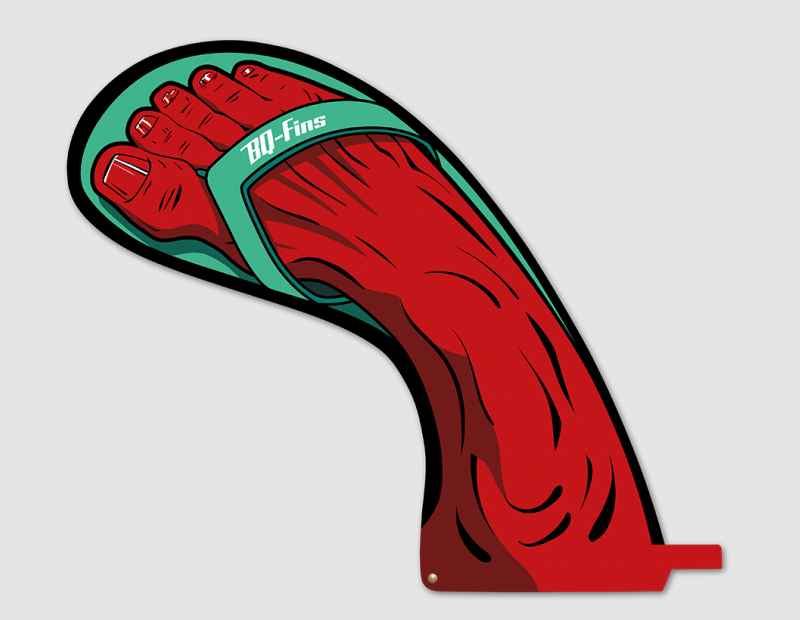BQ Fins Feet