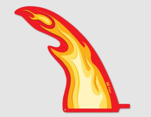 BQ Fins Flame