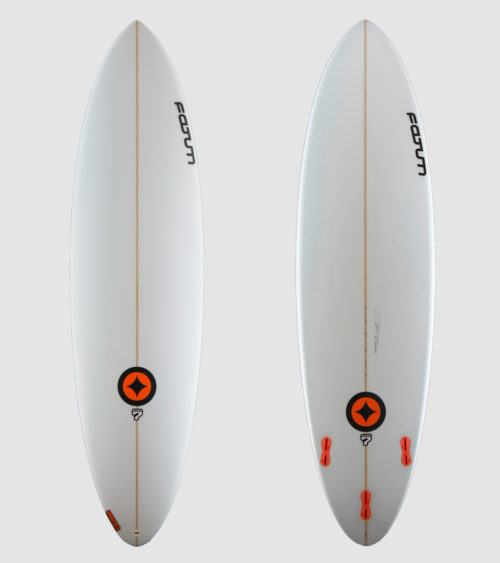 """SUPER7 6'8"""" white"""