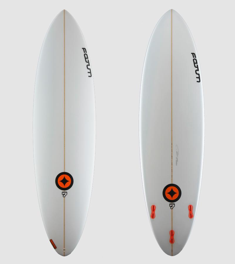 SUPER7 White orange